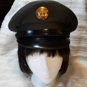 Vintage U.S. Army Service Hat Vietnam Era
